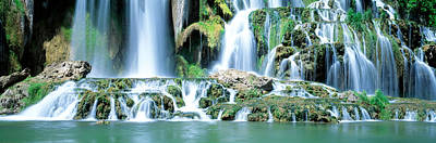 Waterfall Snake River Bonneville Co Id Print by Panoramic Images