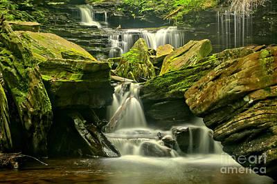 Waterfalling Everywhere Print by Adam Jewell