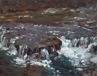 Waterfalls At Three Sisters Islands Original by Ylli Haruni