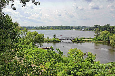 Riverwalk Photograph - Waterford Heritage Trail by Charline Xia