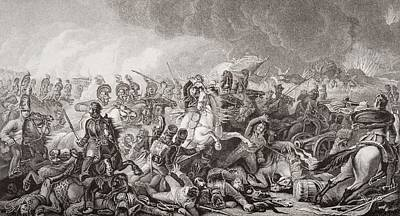 Waterloo. The Decisive Charge Of The Print by Vintage Design Pics