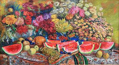 Watermelon Symphony Original by Maya Gusarina