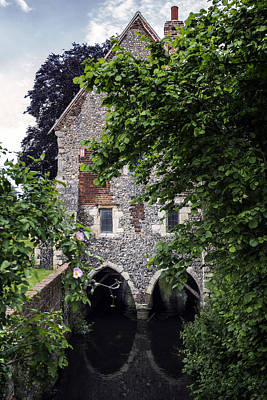 Old Mill Scenes Photograph - Watermill by Joana Kruse