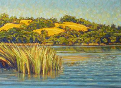 Water's Edge Print by Tom Taneyhill