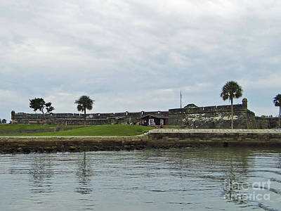 Best Sailing Photograph - Waterview Castillo De San Marcos by D Hackett