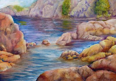 Watson Lake Painting - Watson Lake 2 by Melanie Harman