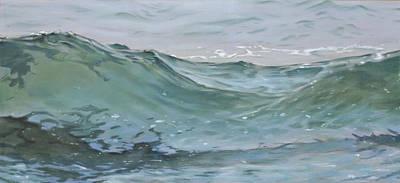 Landscape Painting - Wave 74 by Christopher Reid
