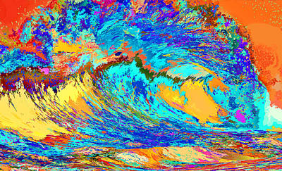 Wave Of Color Original by Lawrence O'Toole
