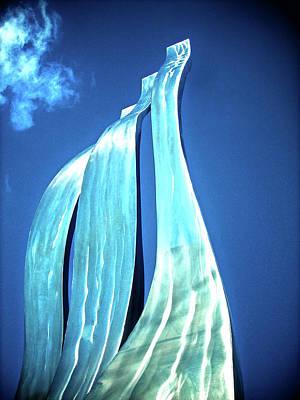Muenchen Photograph - Wave Of Weiden by Juergen Weiss