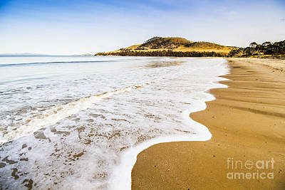 Waves Of Tranquil Calm Print by Jorgo Photography - Wall Art Gallery