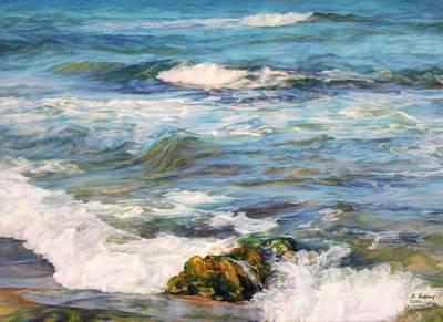Waving Sea... Print by Maya Bukhina