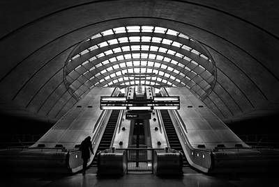 Underground Photograph - Way Out by Ricky Siegers