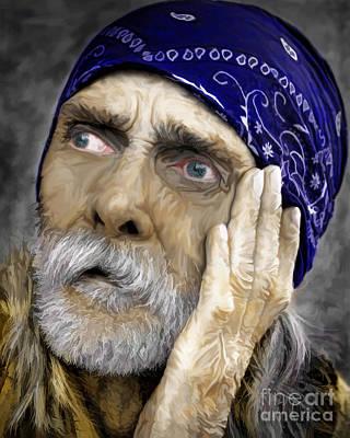 Hoodie Digital Art - We All Need Help by JohnD Smith