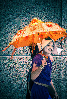 We All Wear Masks Print by Off The Beaten Path Photography - Andrew Alexander