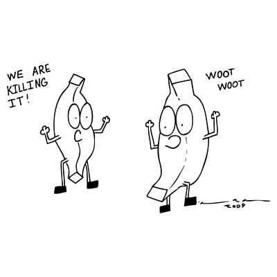 We Are Killing It Comic Print by Karl Addison