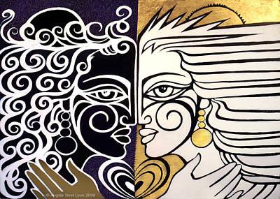 We Are Me Original by Angela Treat Lyon