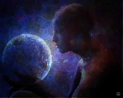 Caring Mother Digital Art - We Are Responsible by Gun Legler