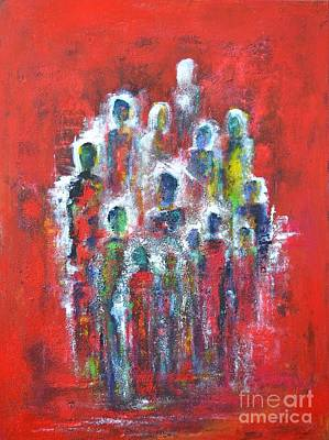 Unity Painting - We Are  Strong by Susanne  Frenzel