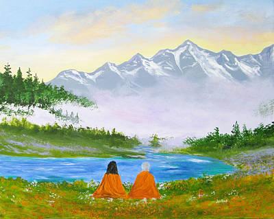 Yogananda Painting - We Are Thine by Jyotish Novak