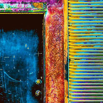 Door Photograph - We Enter by Lee Harland