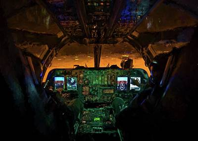 B1b Photograph - We Own The Night by JC Findley