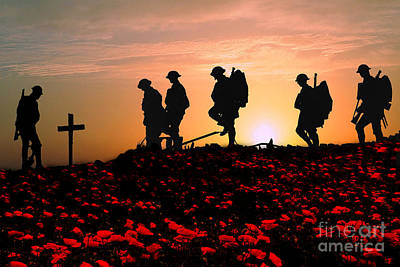 November Photograph - We Will Remember Them by Stephen Smith