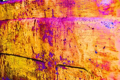 Patina Digital Art - Wear And Tear Of Life by Jan Amiss Photography