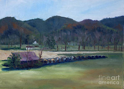 Painting - Wears Valley, Tn by Janet Felts