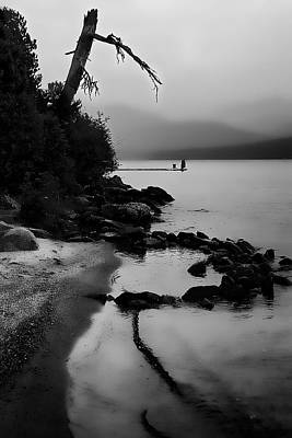 Fog Photograph - Weathered by David Patterson