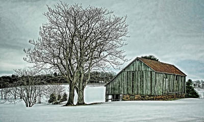 Rural Photograph - Weathered by Heather Applegate