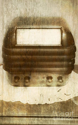 Classic Audio Player Photograph - Weathered Wireless by Jorgo Photography - Wall Art Gallery