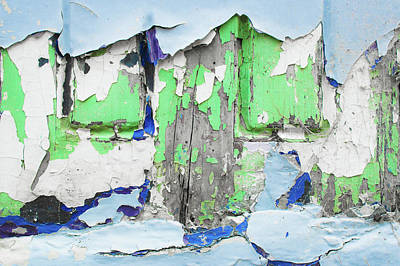 Messy Photograph - Weathered Wood Panels by Tom Gowanlock