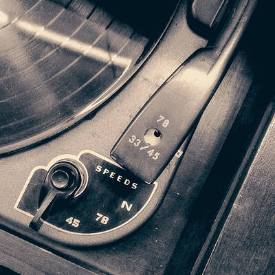 Evens Photograph - Webcor Musicale Phonograph by Jon Woodhams