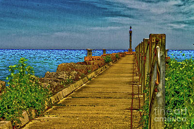 Webster Ny Photograph - Webster Jetty by William Norton