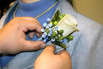 Photograph - Wedding Corsage  by Gravityx9 Designs