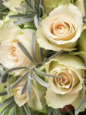 Flourish Photograph - Wedding Flowers by Wim Lanclus