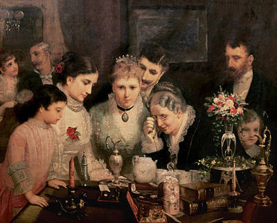 Value Painting - Wedding Presents by JW Champney