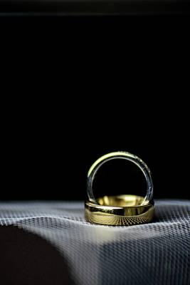 Digital Art - wedding Rings by Toppart Sweden