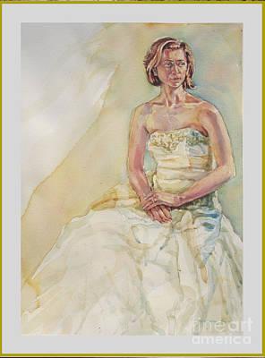 Wedding Thoughts Original by Raymond  Zaplatar