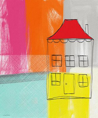 Weekend Escape Print by Linda Woods