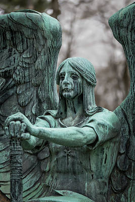 Weeping Angel Print by Dale Kincaid