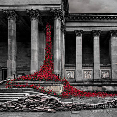 Weeping Window Print by Roger Green