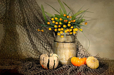 Still Life With Fish Photograph - Welcome Autumn by Diana Angstadt