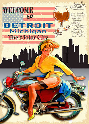 Welcome To Detroit Original by Don Kuing