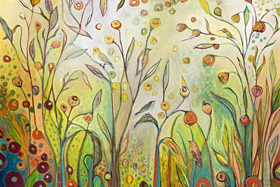 Welcome To My Garden Original by Jennifer Lommers