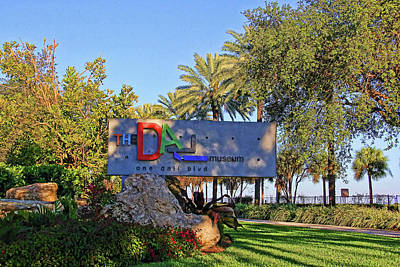 Red Photograph - Welcome To The Dali by HH Photography of Florida