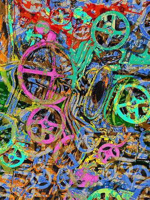 Welcome To The Machine Green Original by Tony Rubino