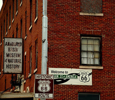 The Main Photograph - Welcome To The Main Street Of America by Susanne Van Hulst