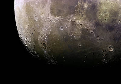 Welcome To The Moon Print by Manuel Huss