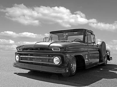 Chevrolet Photograph - Well Used - 64 Chevy C10 by Gill Billington